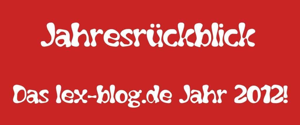 pic: Jahresrückblick 2012