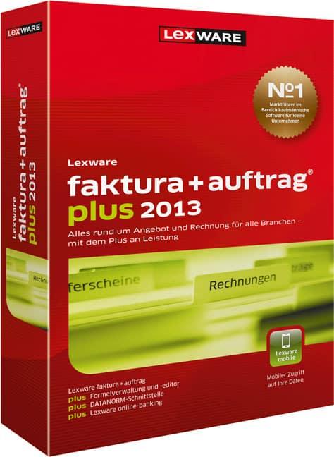pic: Lexware faktura+auftrag plus 2013
