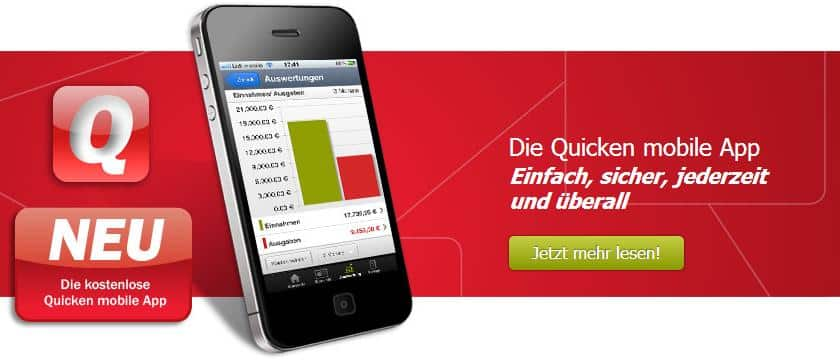 Quicken mobile App