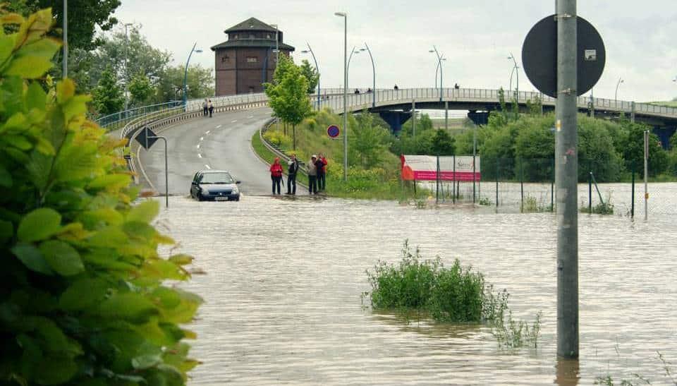 Hochwasser (Jena) 06-2013 by Stepper Photography