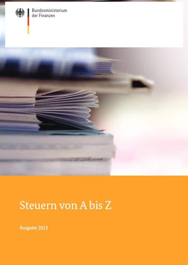 Steuern von A bis Z
