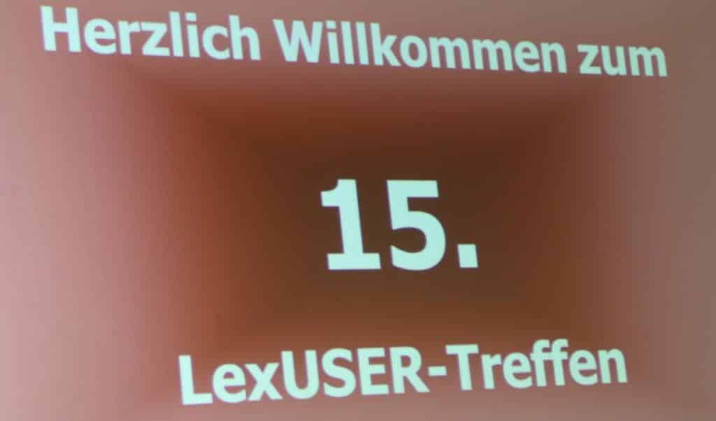 15. Lexware User-Treffen