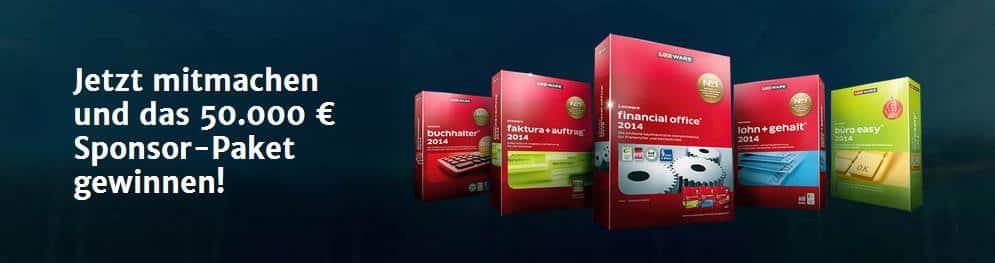 Lexware Sponsor-Paket Gewinnspiel