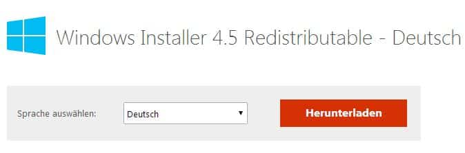 Update Windows Installer