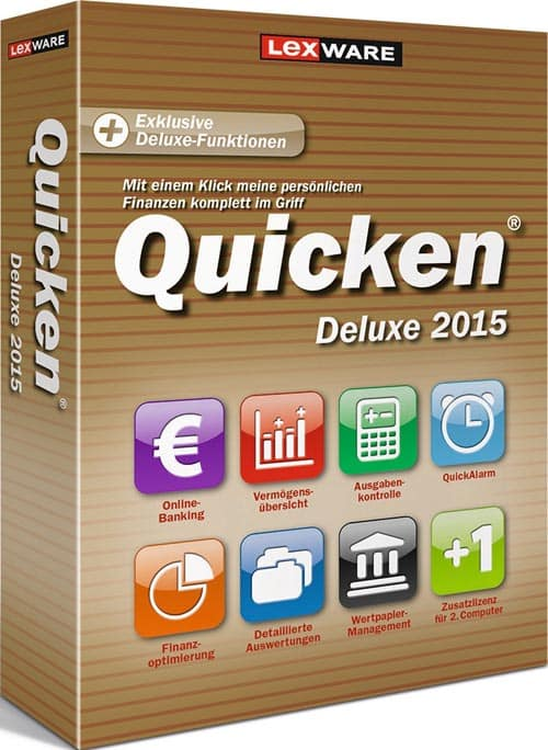 Lexware Quicken Deluxe 2015