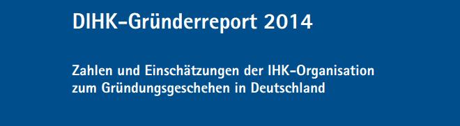 DIHK Gründerreport 2014