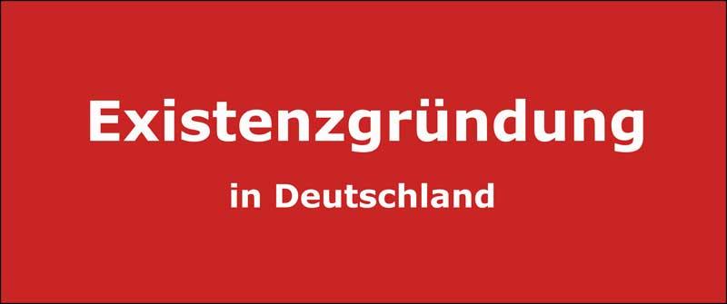 Existenzgründung in Deutschland