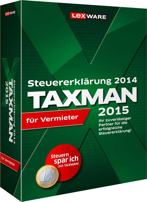 Lexware Taxman Vermieter 2015