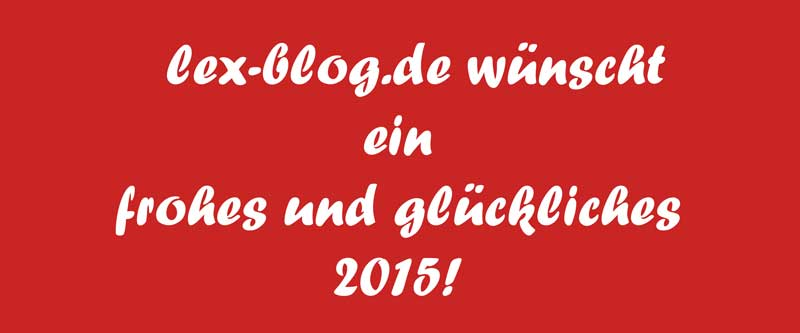 Frohes 2015!