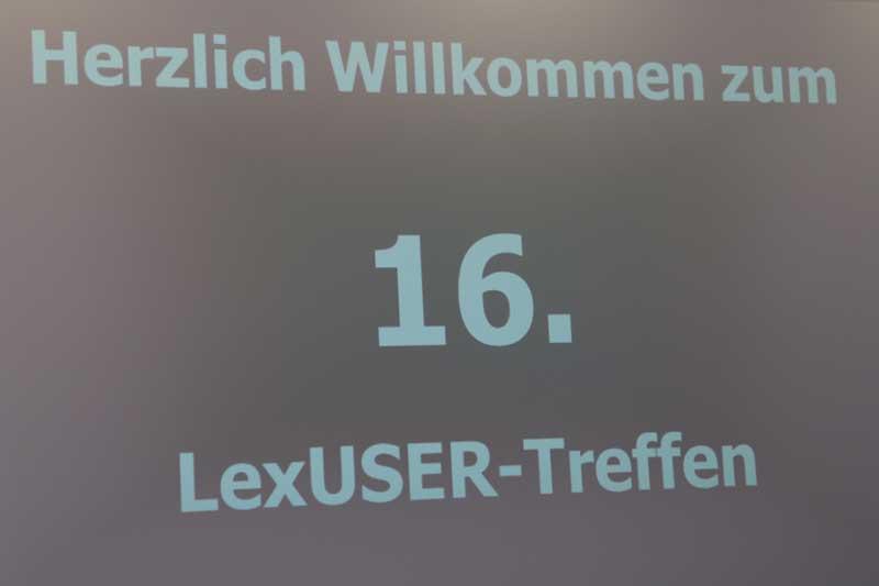 16. LexUser-Treffen