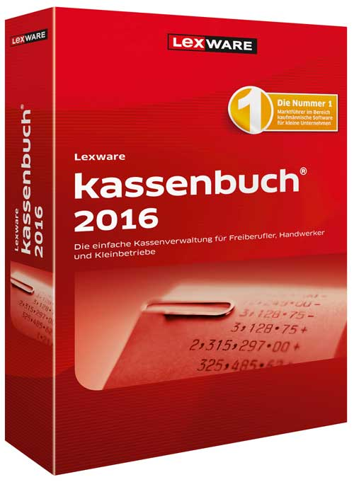 Lexware kassenbuch 2016 Packshot