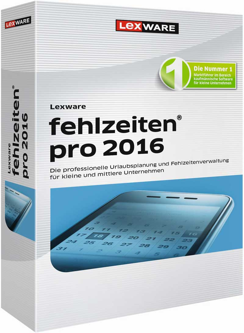 Lexware fehlzeiten pro 2016