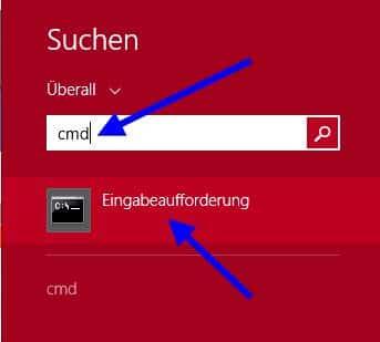 Eingabeaufforderung / CMD