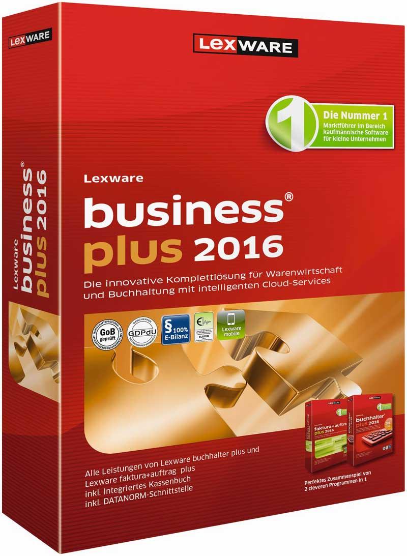 Lexware business plus 2016 Packshot