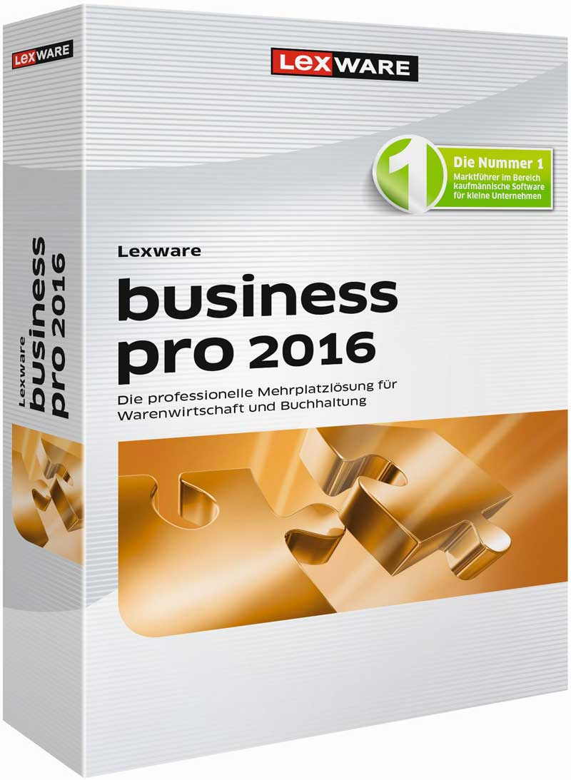 Lexware business pro 2016 Packshot