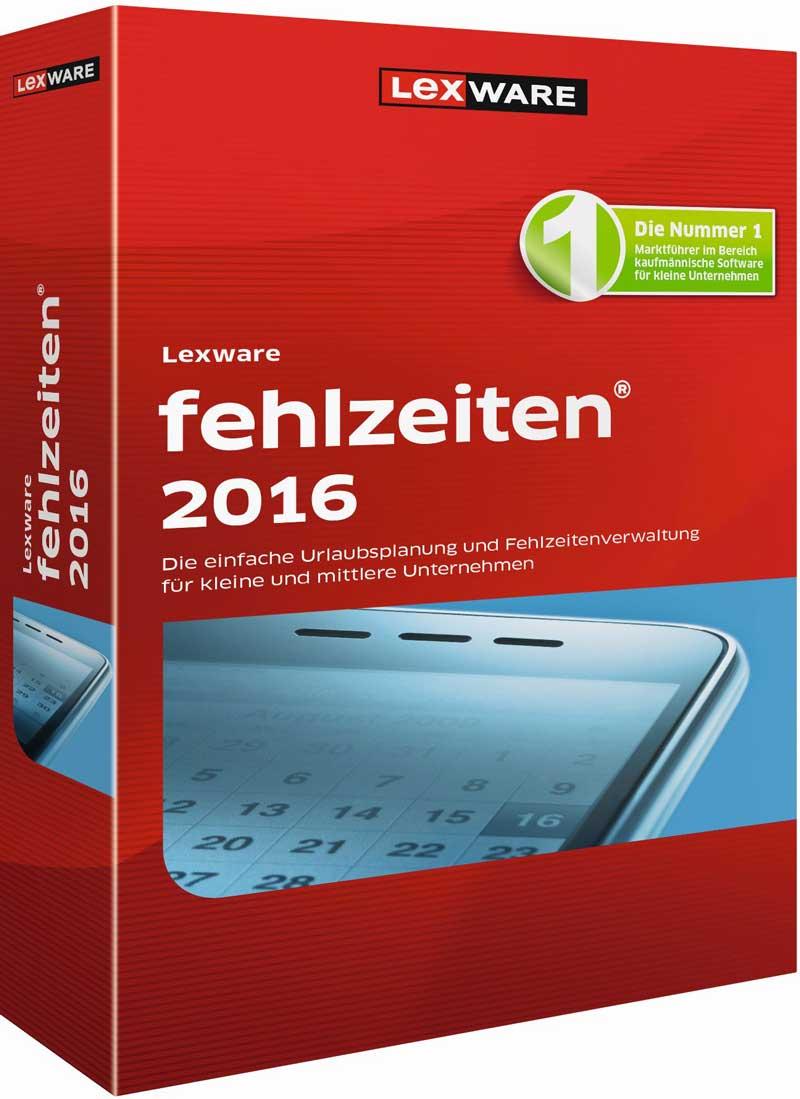 Lexware fehlzeiten 2016 Packshot