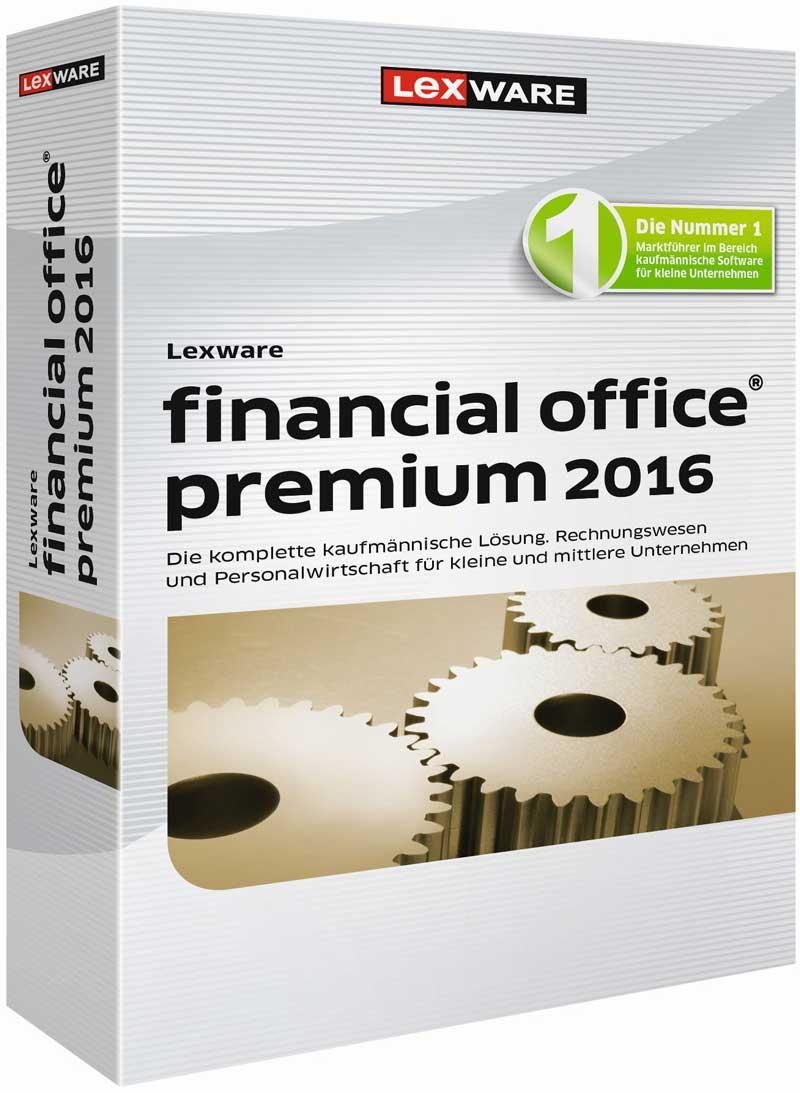 Lexware financial office premium 2016 Packshot