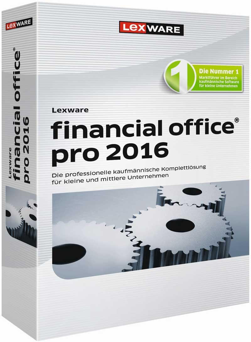 Lexware financial office pro 2016 Packshot