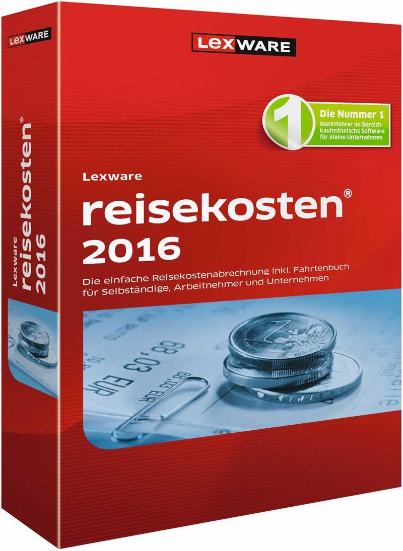 Lexware reisekosten 2016 Packshot
