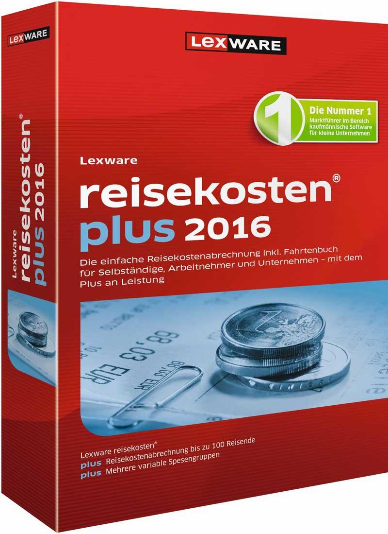 Lexware reisekosten plus 2016 Packshot