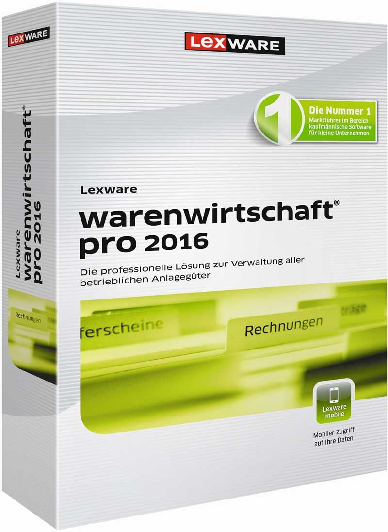Lexware warenwirtschaft professional 2016 Packshot
