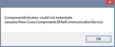 E-mail Versand Lexware Meldung E-mail an