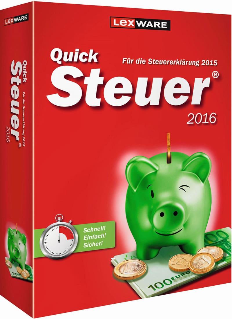 Lexware QuickSteuer 2016 Packshot
