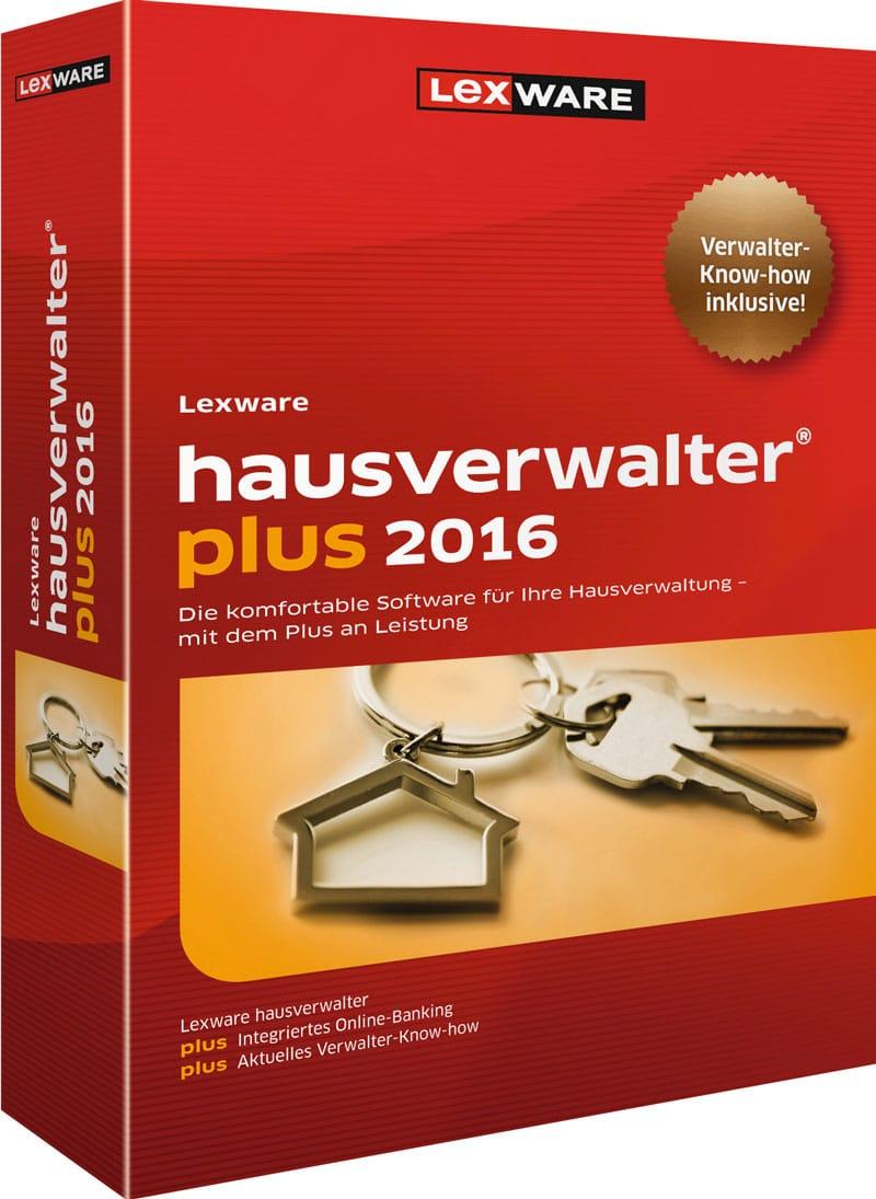 Lexware hausverwalter plus 2016 Packshot