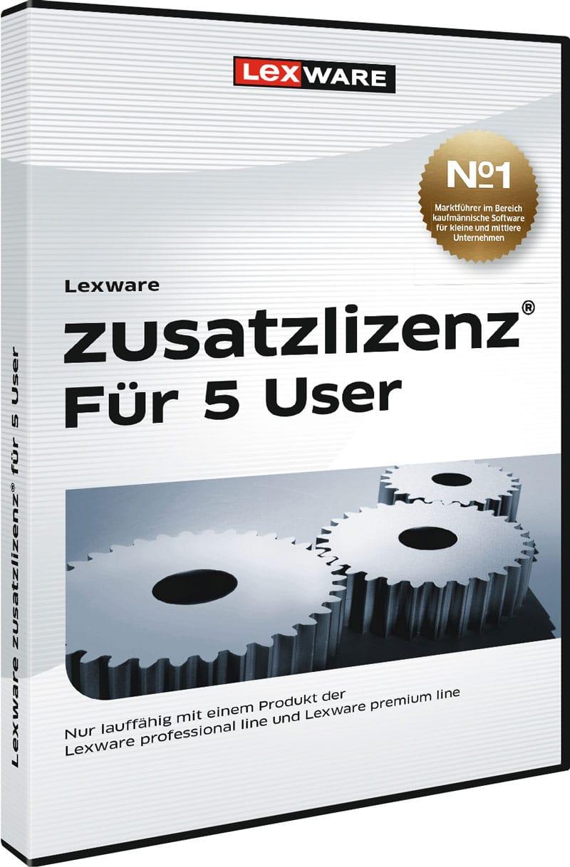 Lexware zusatzlizenz 5User Packshot