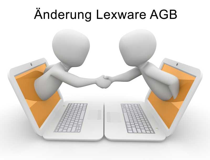 Lexware AGB Änderung