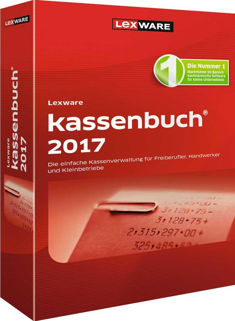 Lexware kassenbuch 2017 Packshot