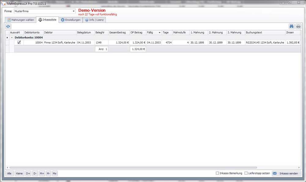 Mahnexpresslx Pro Schnell Und Effizient Mahnen Aus Dem Lexware