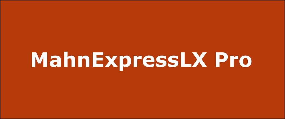 MahnExpressLX Pro