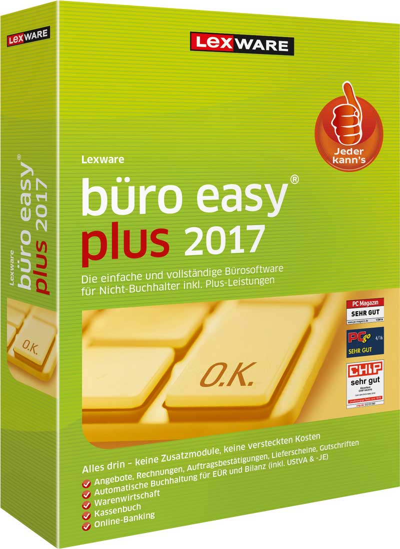 büro easy plus 2017