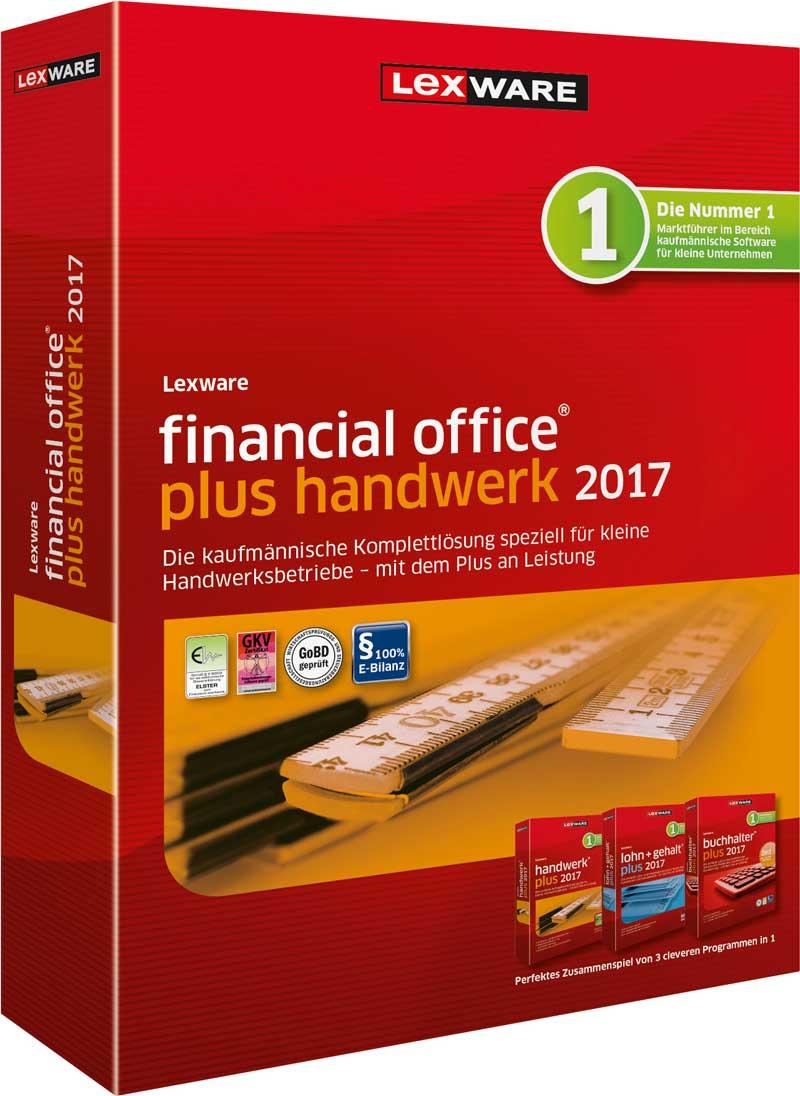 Lexware financial office plus handwerk 2017