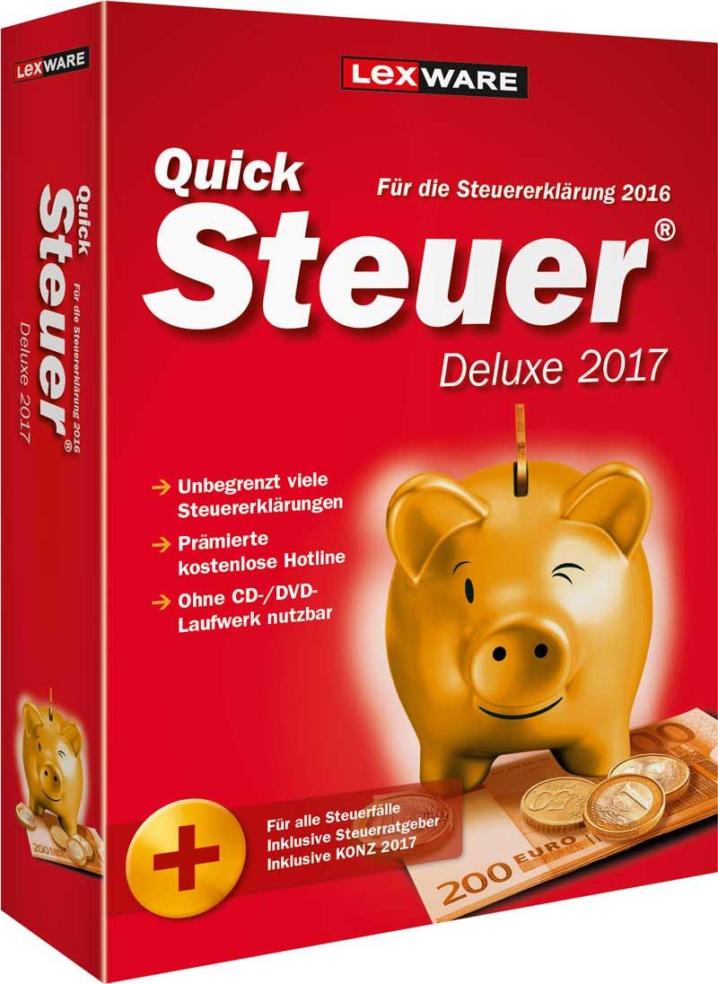 QuickSteuer Deluxe 2017
