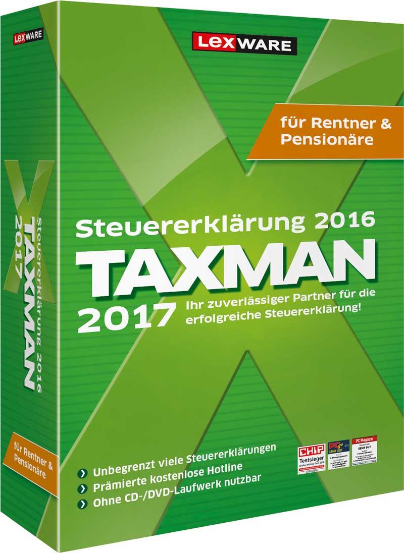 Taxman für Rentner und Pensionäre 2017