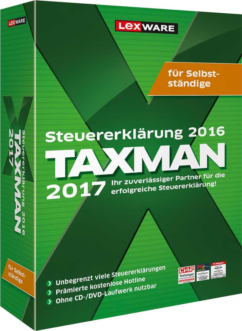 Taxman für Selbständige 2017