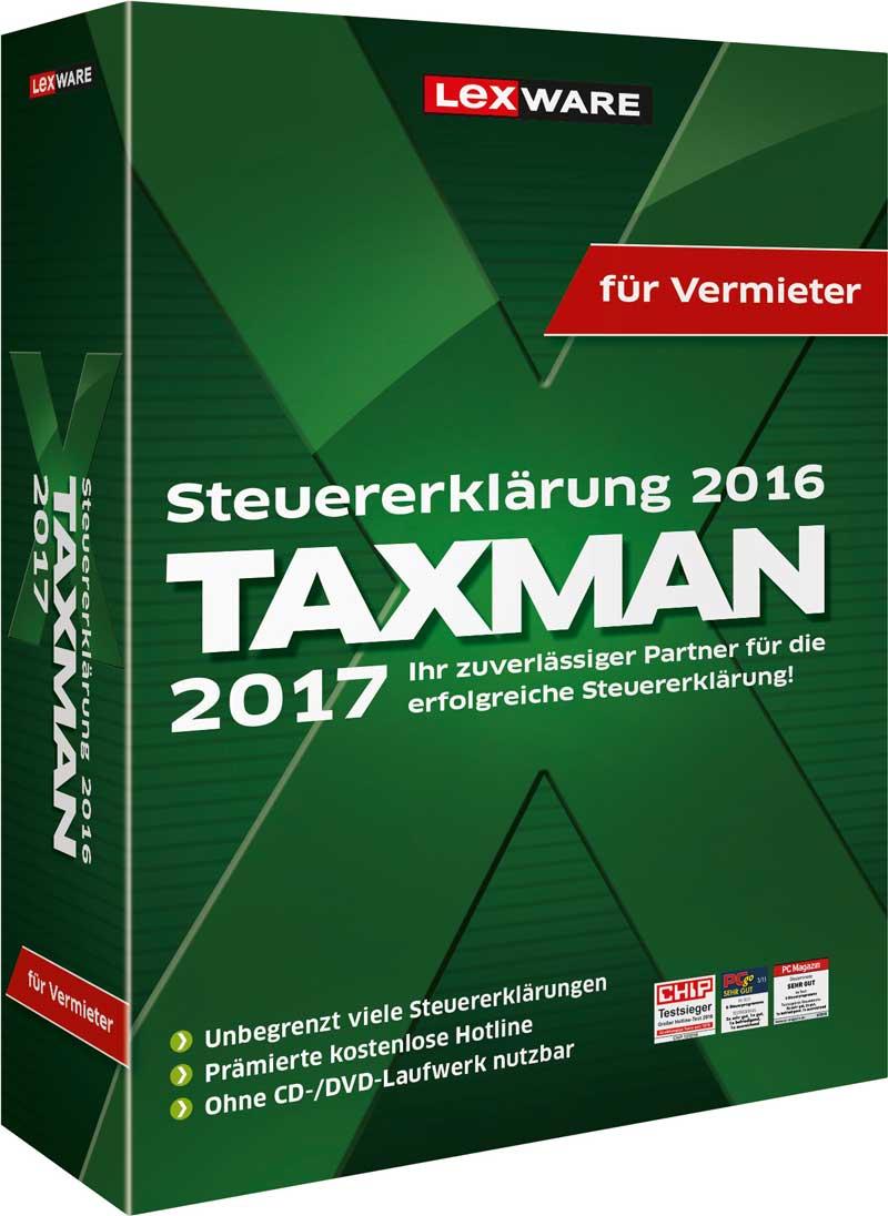 Taxman für Vermieter 2017