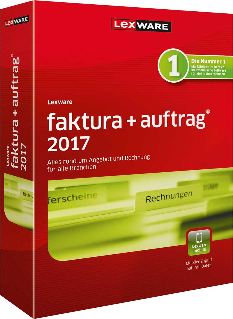 Lexware faktura+auftrag 2017