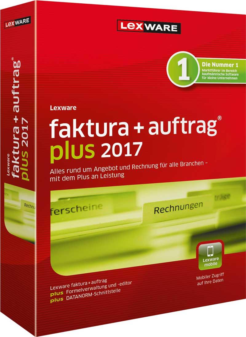 Lexware faktura+auftrag plus 2017