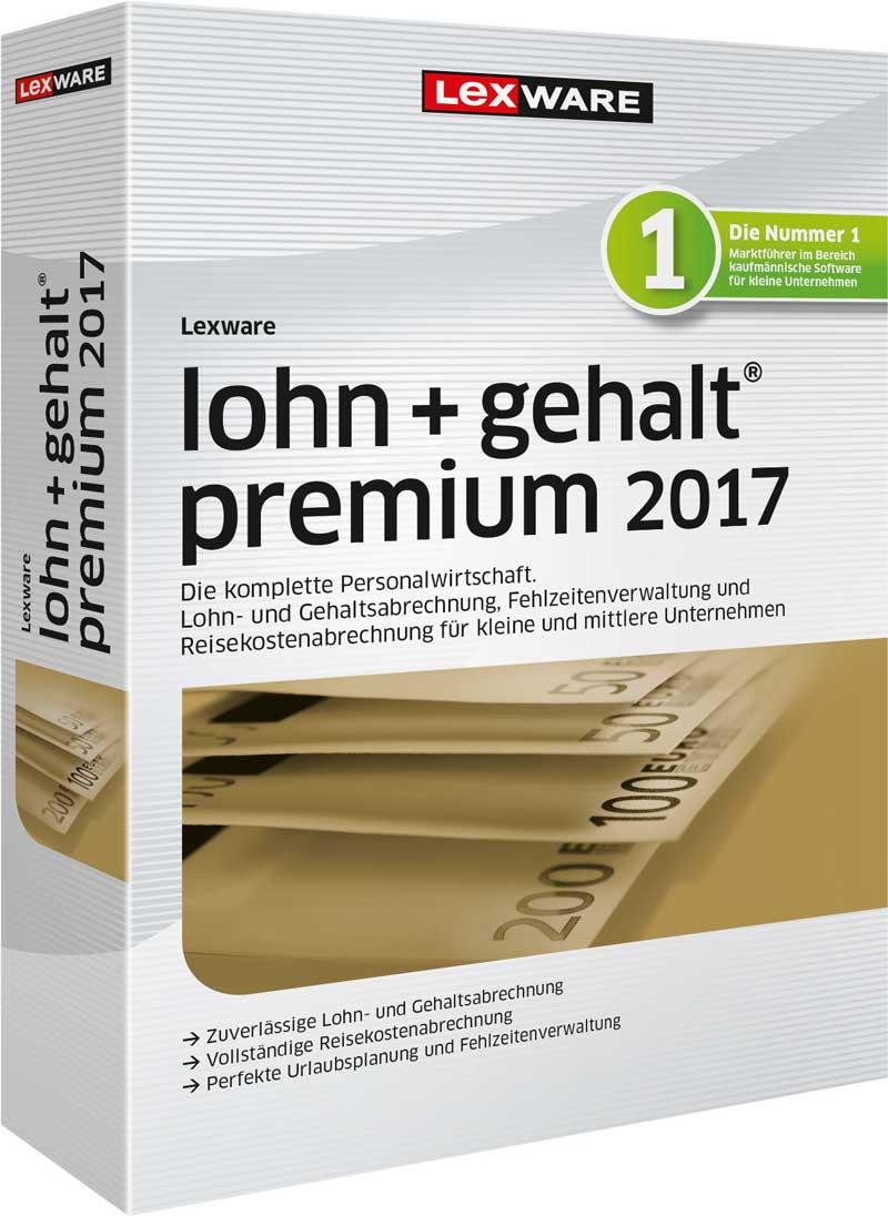 Lexware lohn+gehalt premium 2017