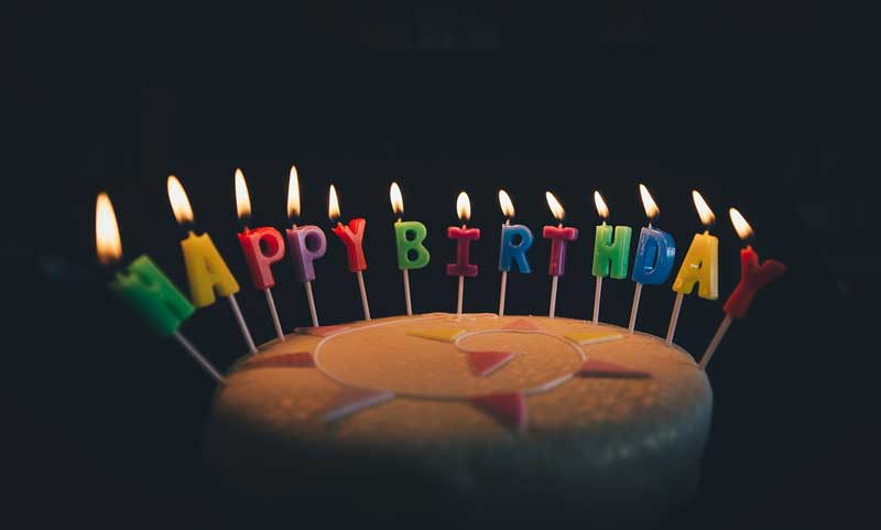 Happy Birthday (pixabay - Pexels)