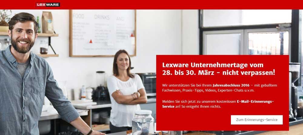 Lexware Unternehmer:innentage 2017