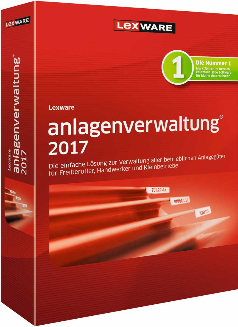Lexware anlagenverwaltung 2017