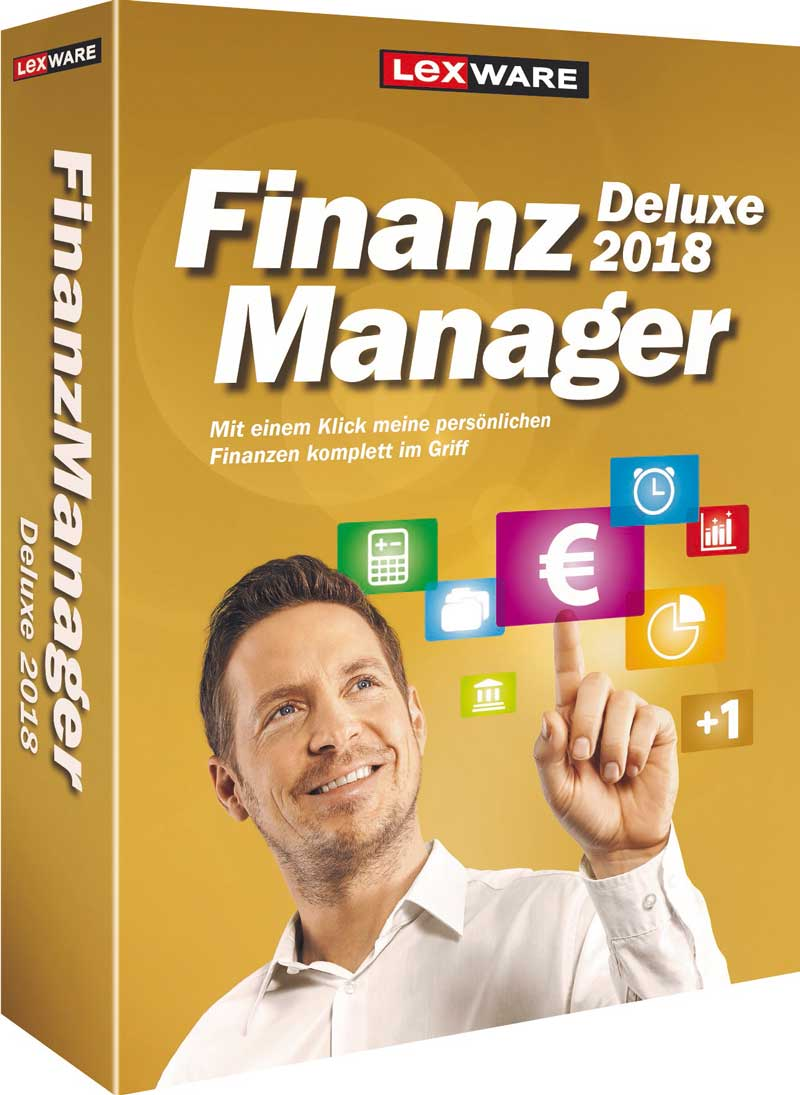 Finanzmanager Deluxe 2018