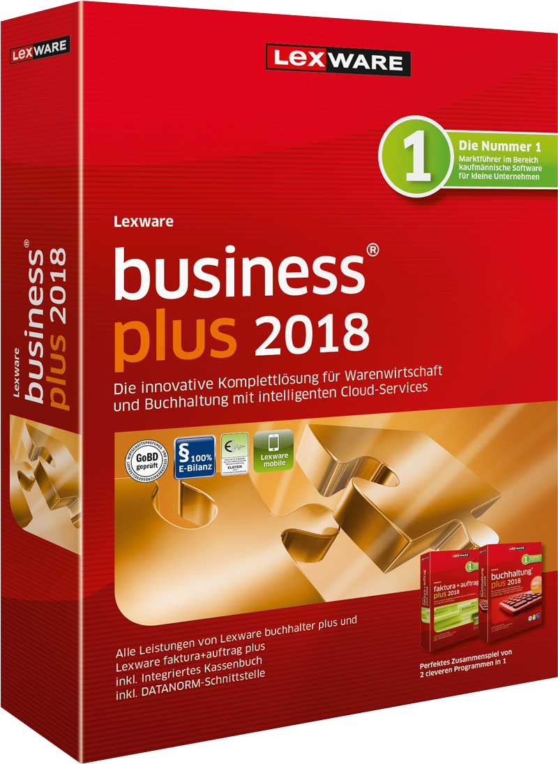 Lexware business plus 2018