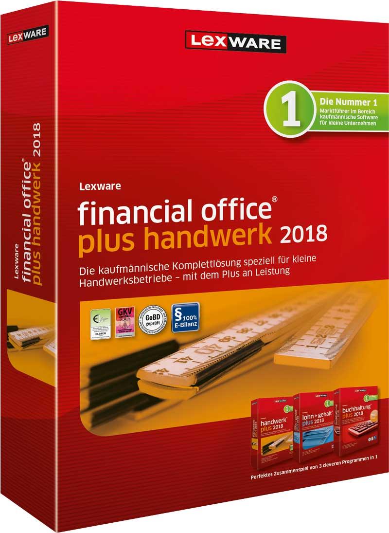 Lexware financial office plus handwerk 2018