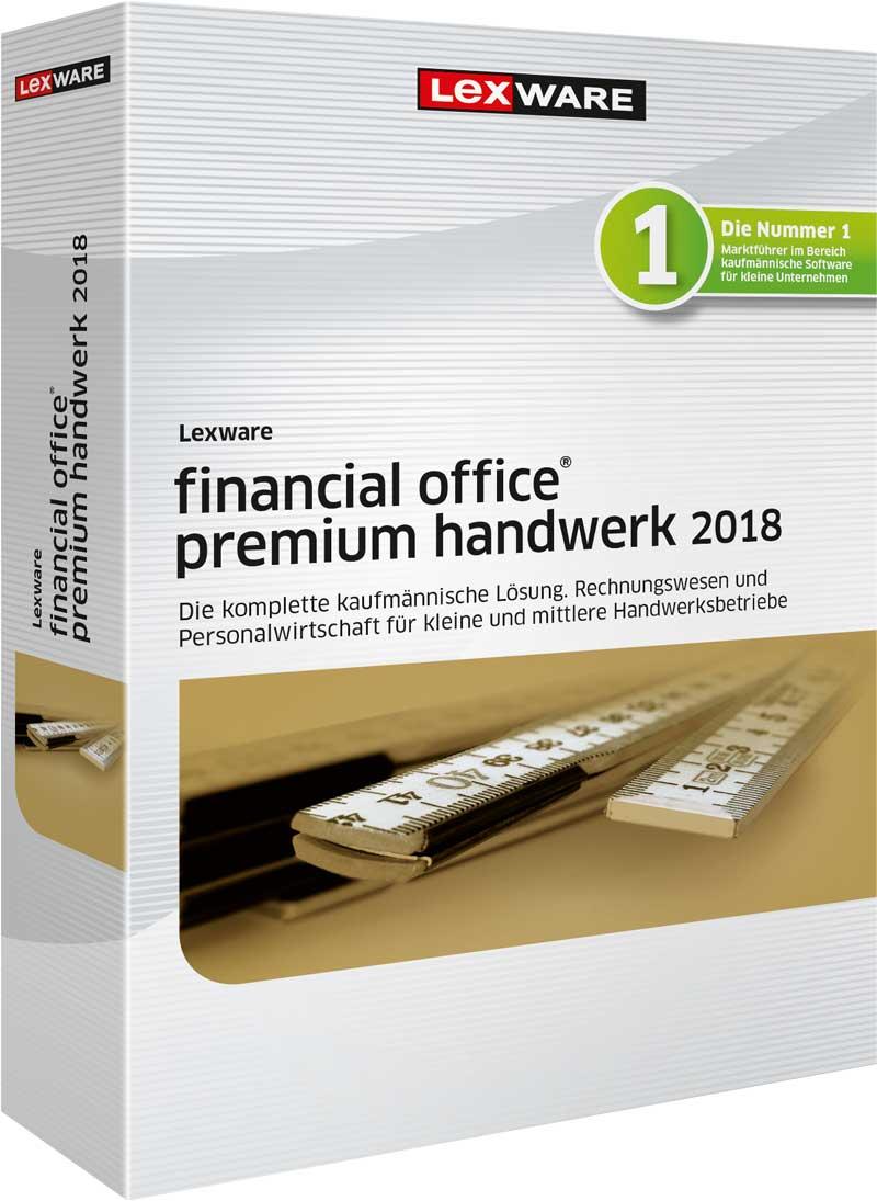Lexware financial office premium handwerk 2018