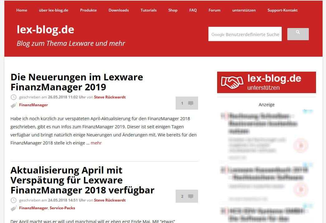 lex-blog.de Thema bis 2018-06-07